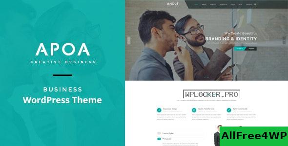 Download 🔝 Apoa v1.3.2 - Business WordPress Theme