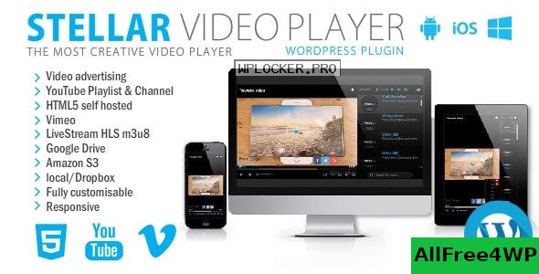 Download 🔝 Stellar Video Player v2.5 - WordPress plugin