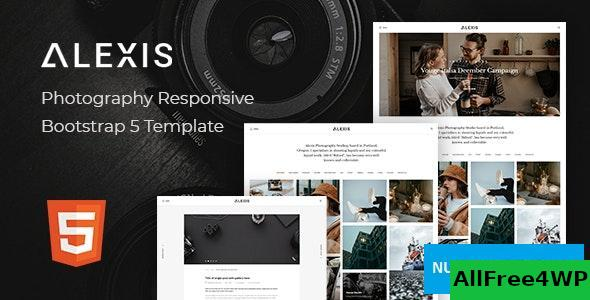 Alexis v1.0 - Photography Responsive Bootstrap 5 Template