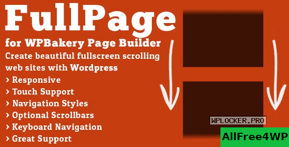 FullPage for WPBakery Page Builder v2.1.4