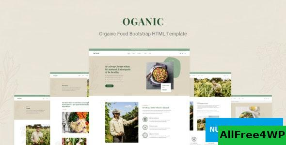 Oganic v1.0 - Organic Food Bootstrap HTML Template