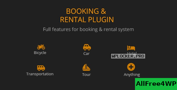 BRW v1.1.9 – Booking Rental Plugin WooCommerce