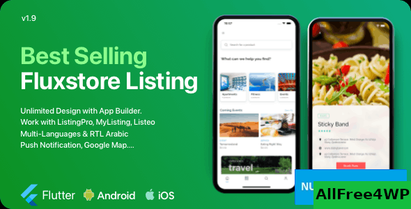 FluxStore Listing v2.0 - The Best Directory WooCommerce app by Flutter
