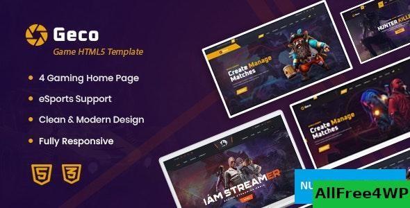 Geco v1.0 - eSports Gaming HTML5 Template
