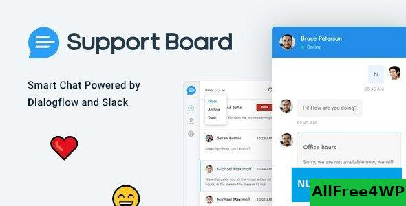 Support Board v3.2.1 - Chat WordPress Plugin - Chat & Support