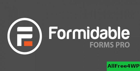 Formidable Forms Pro v4.09.08 + Addons