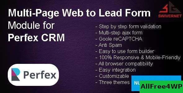 Multi-Page Web to Lead Form Module v1.0.3