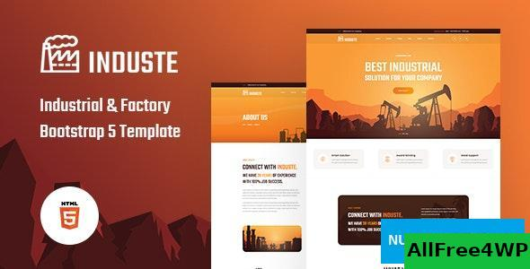 Induste v1.0 - Industrial & Factory Bootstrap 5 Template