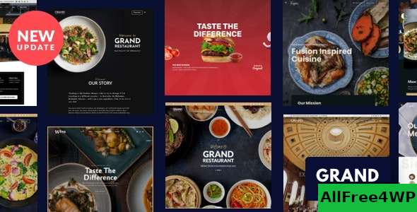 Grand Restaurant v6.1.1 – Restaurant Cafe Theme