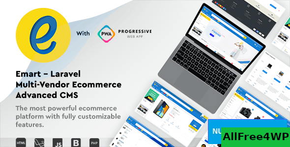 emart v2.0 - Laravel Multi-Vendor Ecommerce Advanced CMS