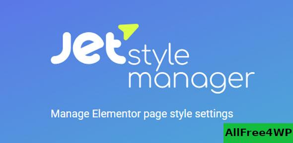 JetStyleManager v1.1.5 – Manage Elementor Page Style Settings