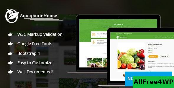 Aquaponic House v1.0 - Bootstrap Template