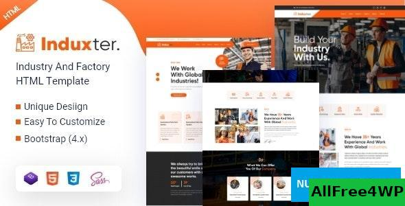 Induxter v1.0 - Industry And Factory HTML Template