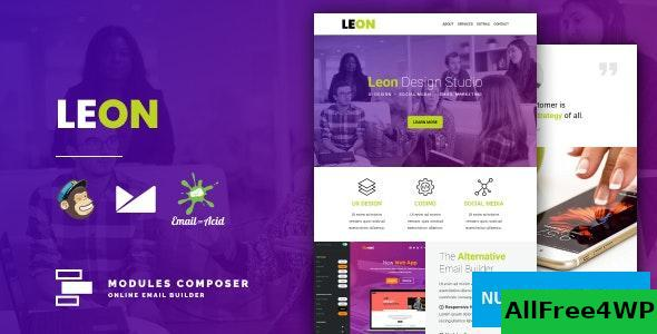 Leon v1.0 - Responsive Email for Agencies, Startups & Creative Teams with Online Builder