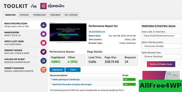 Download 🔝 ToolKit For Elementor v1.3.9nulled