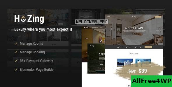 Download 🔝 Hozing Hotel Booking v1.0.9 - WordPress Theme
