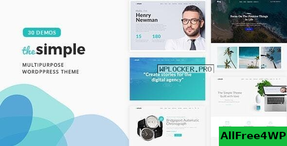 Download 🔝 The Simple v2.6.1 - Business WordPress Theme