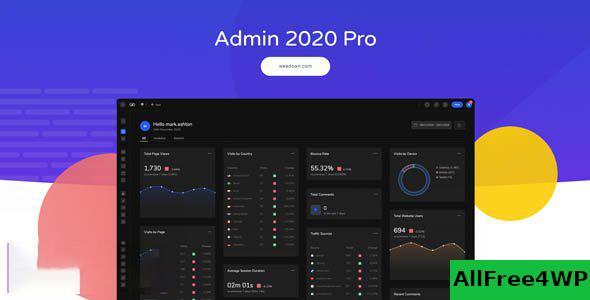 Download 🔝 Admin 2020 v2.0.9 - Supercharge your WordPress Dashboardnulled