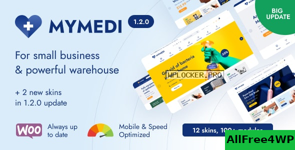 Download 🔝 MyMedi v1.2.0 - Responsive WooCommerce WordPress Theme