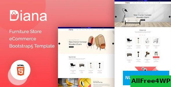 Diana v1.0 – Furniture Store eCommerce Template